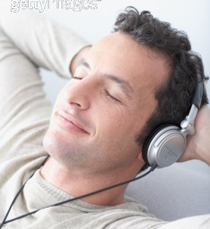 listening to hypnosis CD